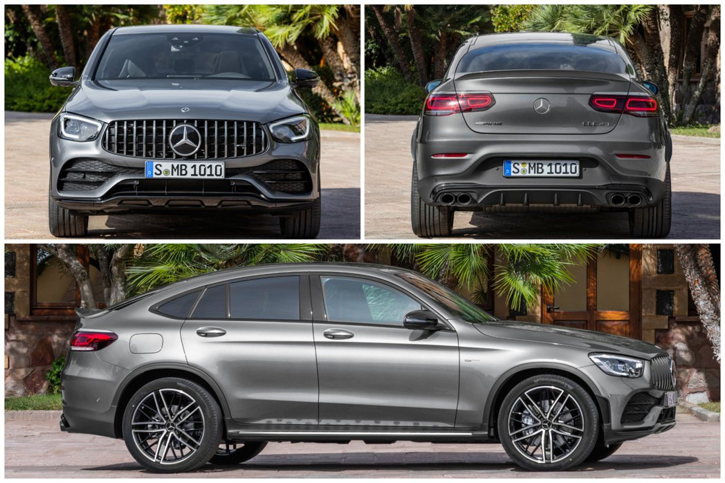 小改款Mercedes-AMG GLC 43 Coupe 4MATIC 運動氣息...