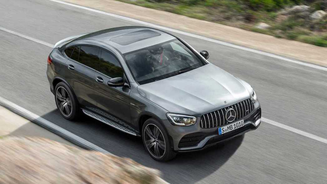 小改款Mercedes-AMG GLC 43 Coupe 4MATIC。 摘自M...