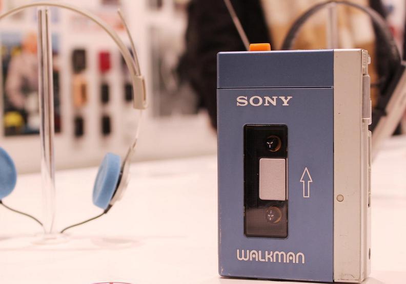 索尼公司(Sony)隨身聽品牌「Walkman」。圖片提供/遠見