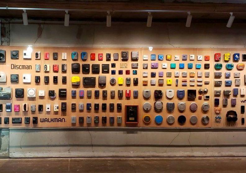 在東京的索尼40週年特展,秀出了有著滿滿時代記憶的各式歷年產品。圖片提供/遠見