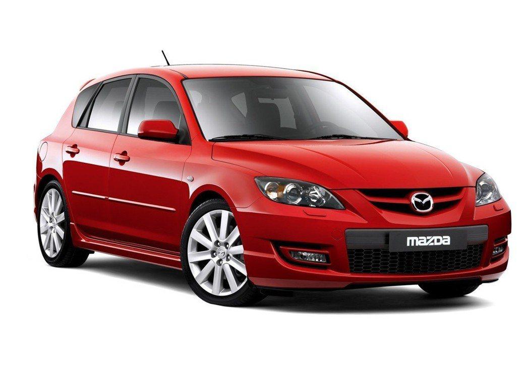 第一代Mazda 3 MPS。 摘自Mazda