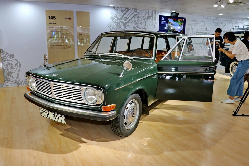 Volvo 145。 記者陳威任/攝影