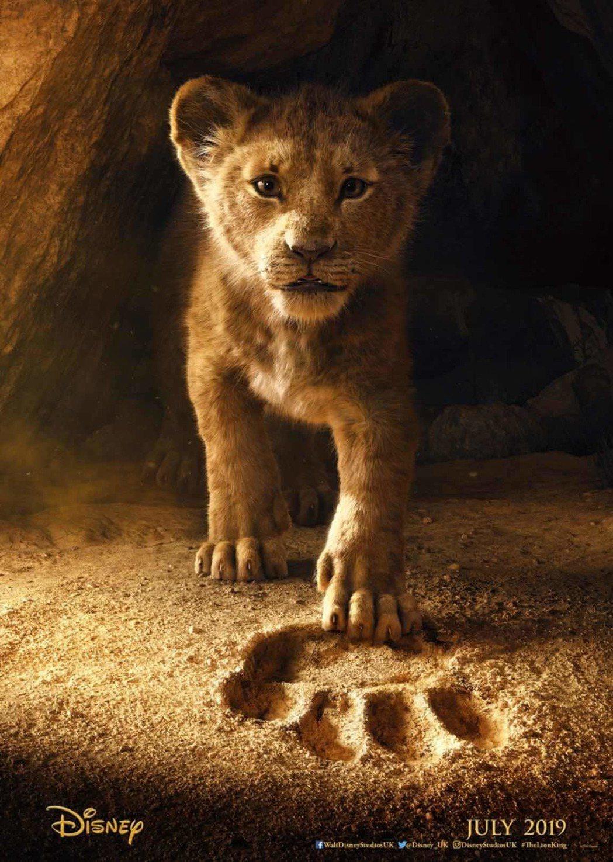 「獅子王」海報。圖/迪士尼提供