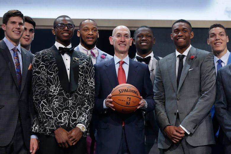 2014 NBA選秀好手如雲,多位當年的菜鳥已成為球隊的中流砥柱,但貴為選秀狀元...