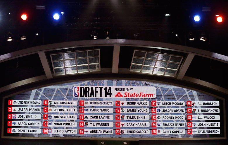 2014年NBA選秀在還沒開始選之前就已被看好,現在回過頭來看確實是自2003年...