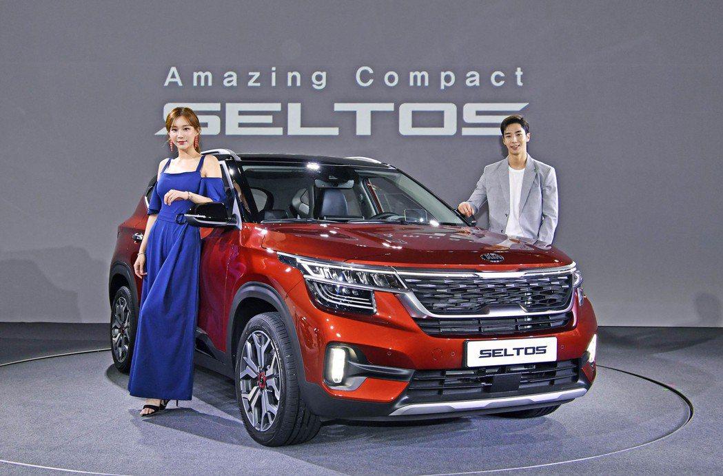 全新Kia Seltos在18日正式於韓國上市。 摘自Kia