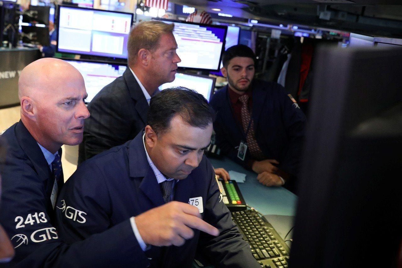 貿易戰疑慮和企業財報好壞不一,美股周三挫跌。 路透