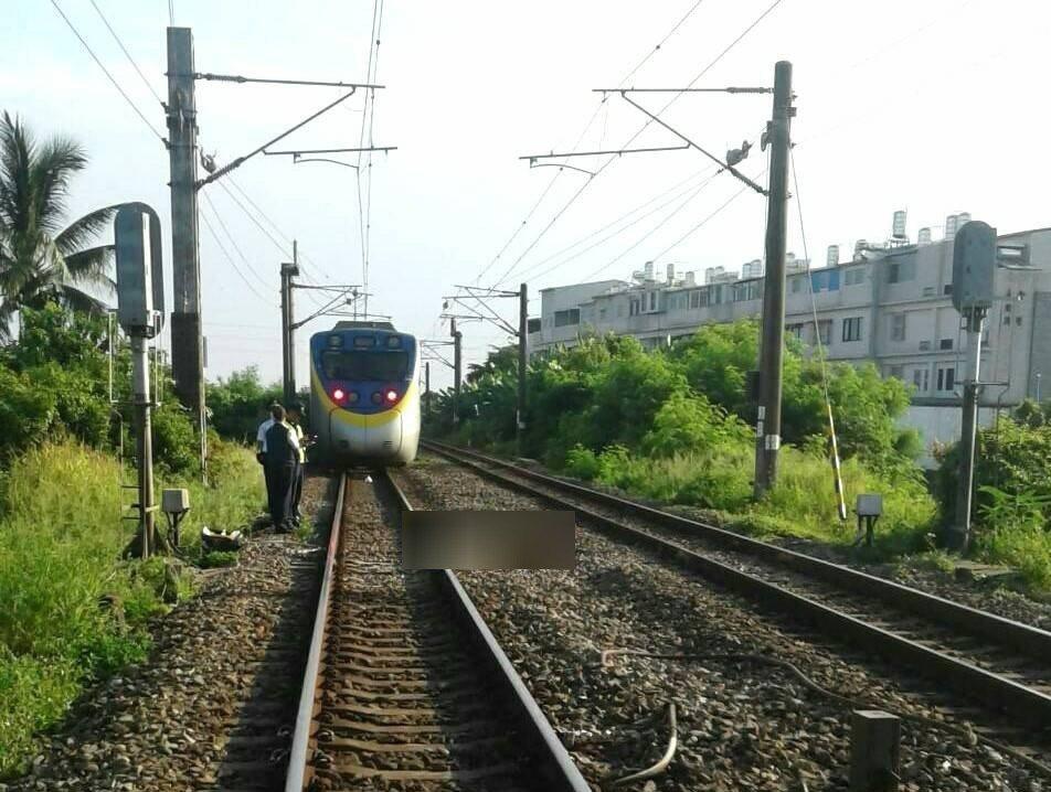 台鐵3116次善化=隆田間發生死傷事故。圖/台鐵局提供
