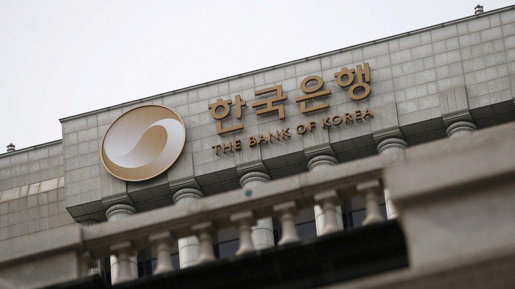 南韓央行周四意外調降政策利率。  (路透)