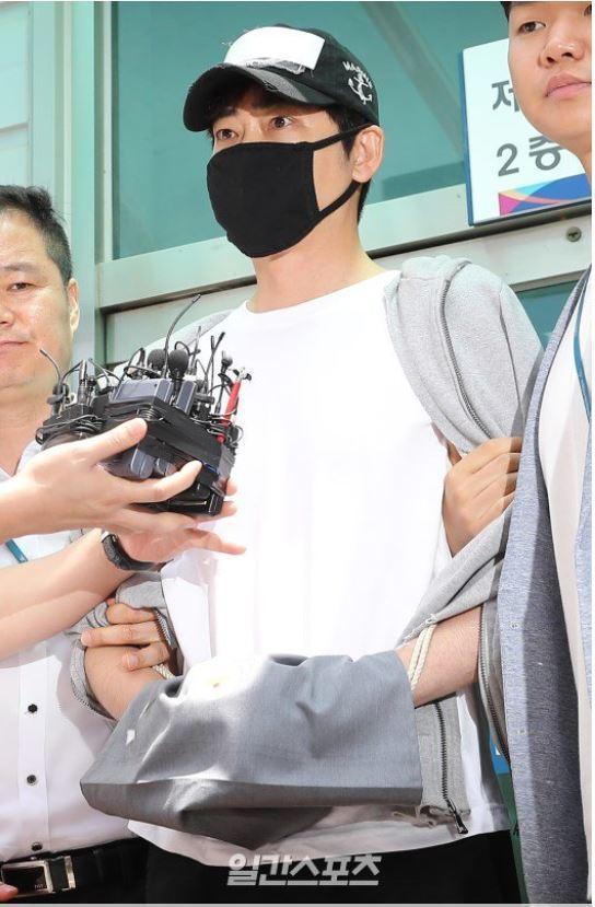 姜至奐性侵女子當晚行為詭異,遭警方懷疑染毒。圖/摘自韓國中央日報