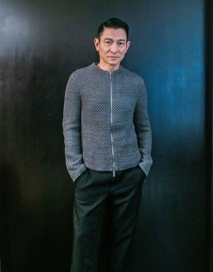 劉德華穿著Emporio Armani 2019春夏服裝, 出席電影「掃毒2天地...