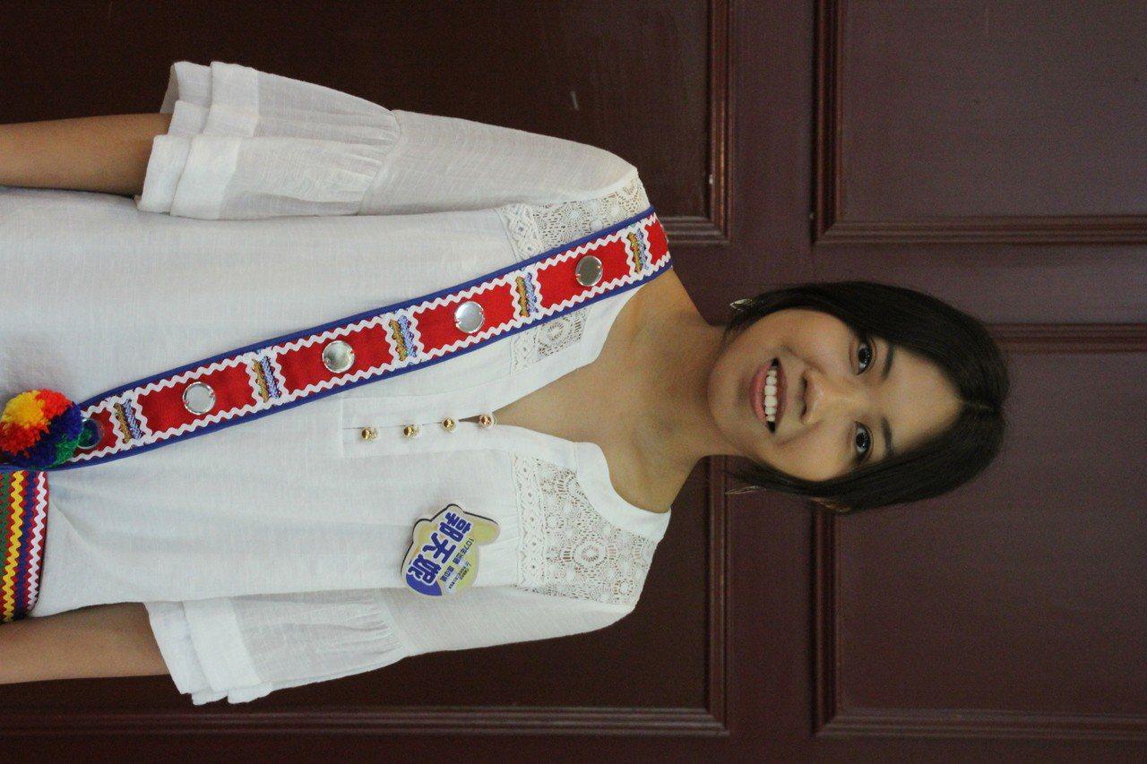 花蓮女中學生郭天妮赴美求學一年,更堅定未來向作國際交流工作的志向。記者王燕華/攝...