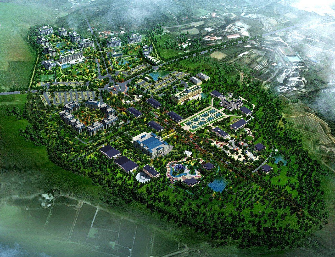 交通部已同意「南投埔里赤崁頂遊樂區開發案」計畫,這塊鄰近中台禪寺的5筆用地達44...