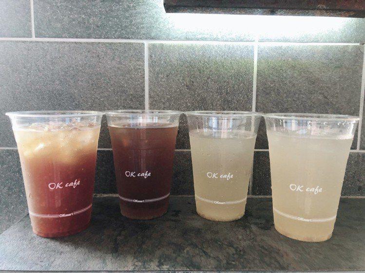 OKmart與台灣茶飲「糖鼎」合作推出4款有料的現做健康茶飲,即日起在全台902...