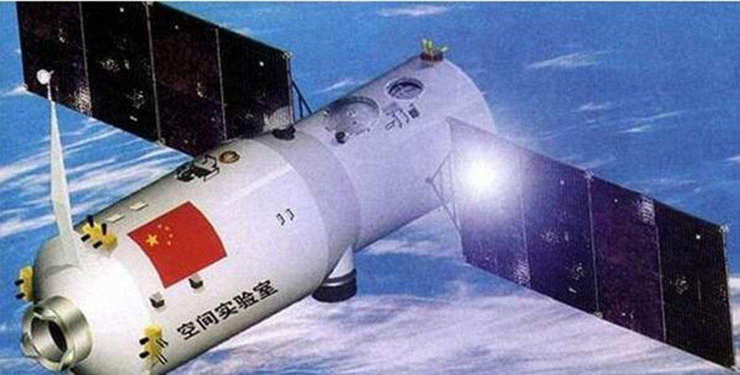 天宮二號空間實驗室。圖/中國軍網