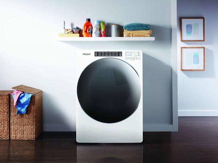 惠而浦全新16KG滾筒乾衣機強勢登場,主打大容量、烘衣快又能殺菌。圖/惠而浦提供