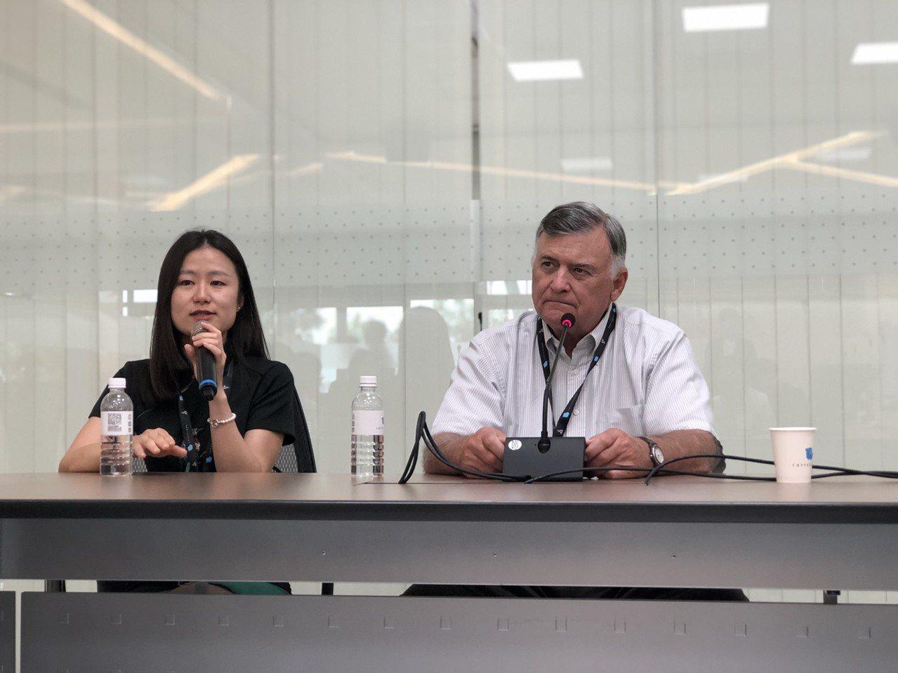 美國精品咖啡協會和咖啡品質創始人泰德林格肯定台灣咖啡很有特色。記者江良誠/攝影