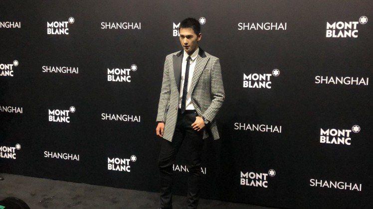 楊洋出席萬寶龍全新寶曦女表發表會,以超短髮新造型現身。記者孫曼/攝影