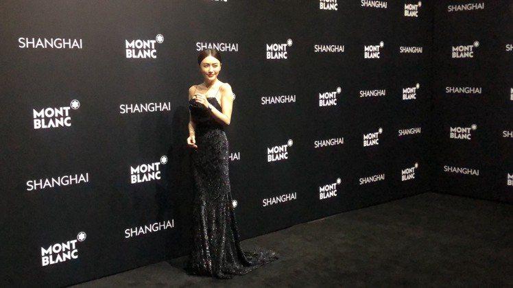 秦嵐出席萬寶龍全新寶曦女表發表會,並擔任品牌摯友。記者孫曼/攝影