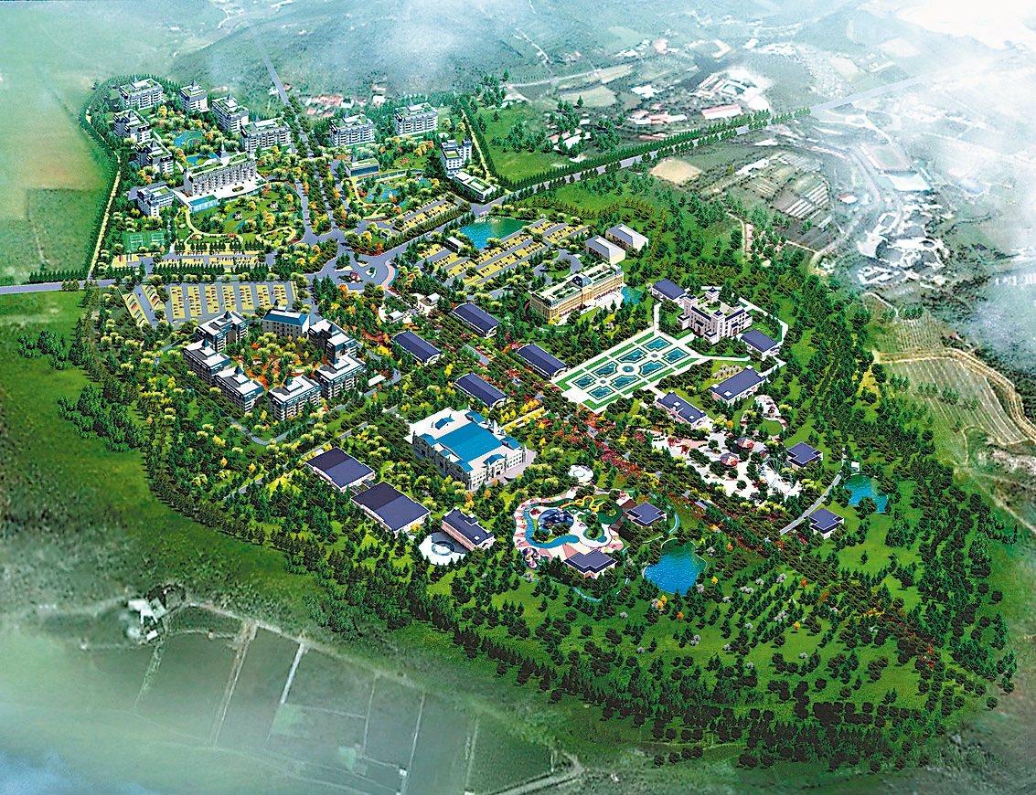交通部已同意「南投埔里赤崁頂遊樂區開發案」計畫。 圖/麗寶集團提供