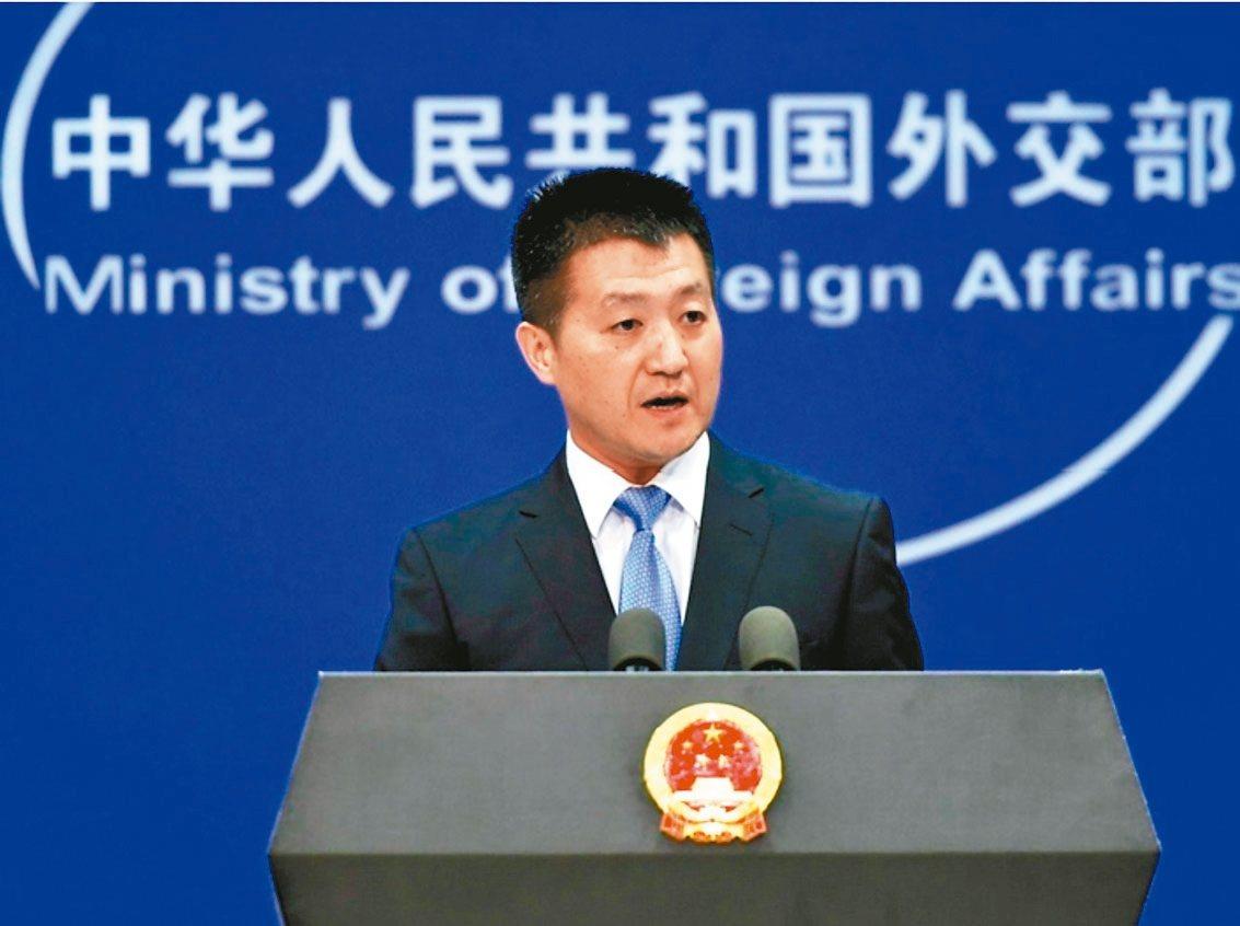 中共外交部發言人陸慷昨在例行記者會上宣布卸任。 圖/摘自中共外交部網站