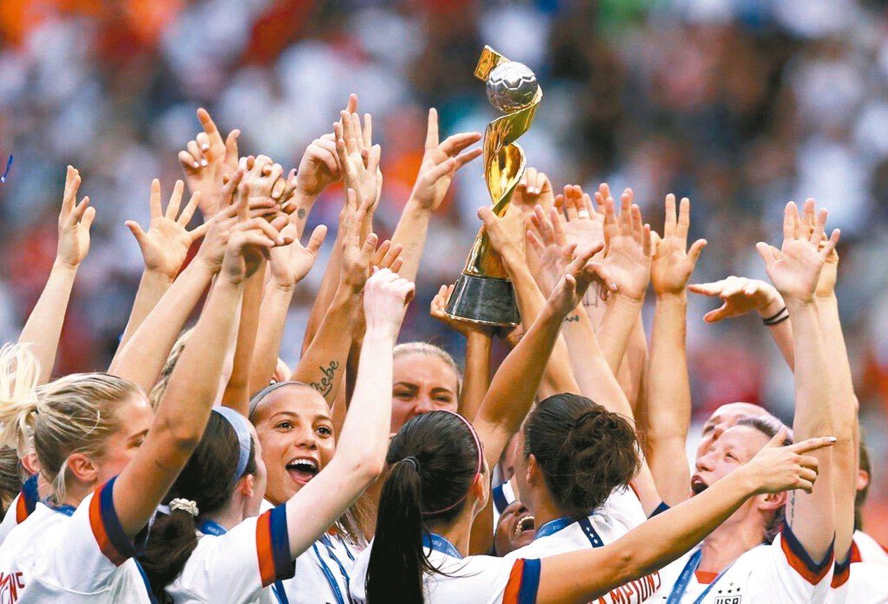 第八屆世界盃女子足球賽決賽,7月7日在法國舉行,由「花旗軍團」美國隊擊敗歐洲冠軍...