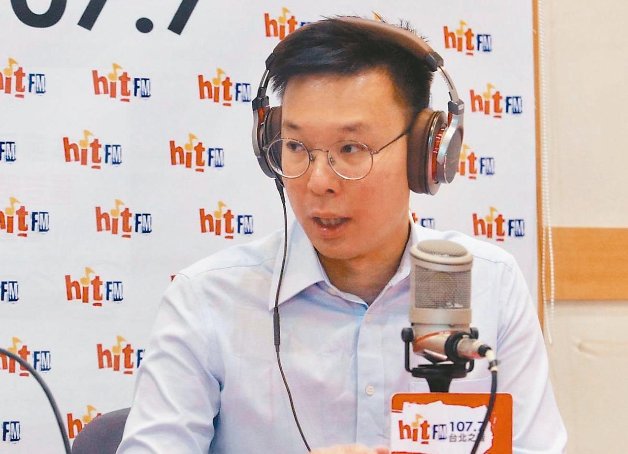 林飛帆表示,台灣應該要打造一個「非韓家園」。 聯合報系記者黃義書/攝影