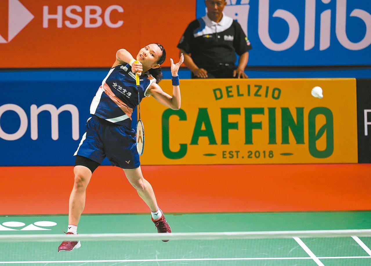 戴資穎逆轉晉級八強。 圖/Badminton Photo提供