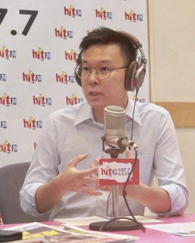 林飛帆(圖)昨天表示,加入民進黨的關鍵因素,是因為高雄市長韓國瑜可能會出線。 記...