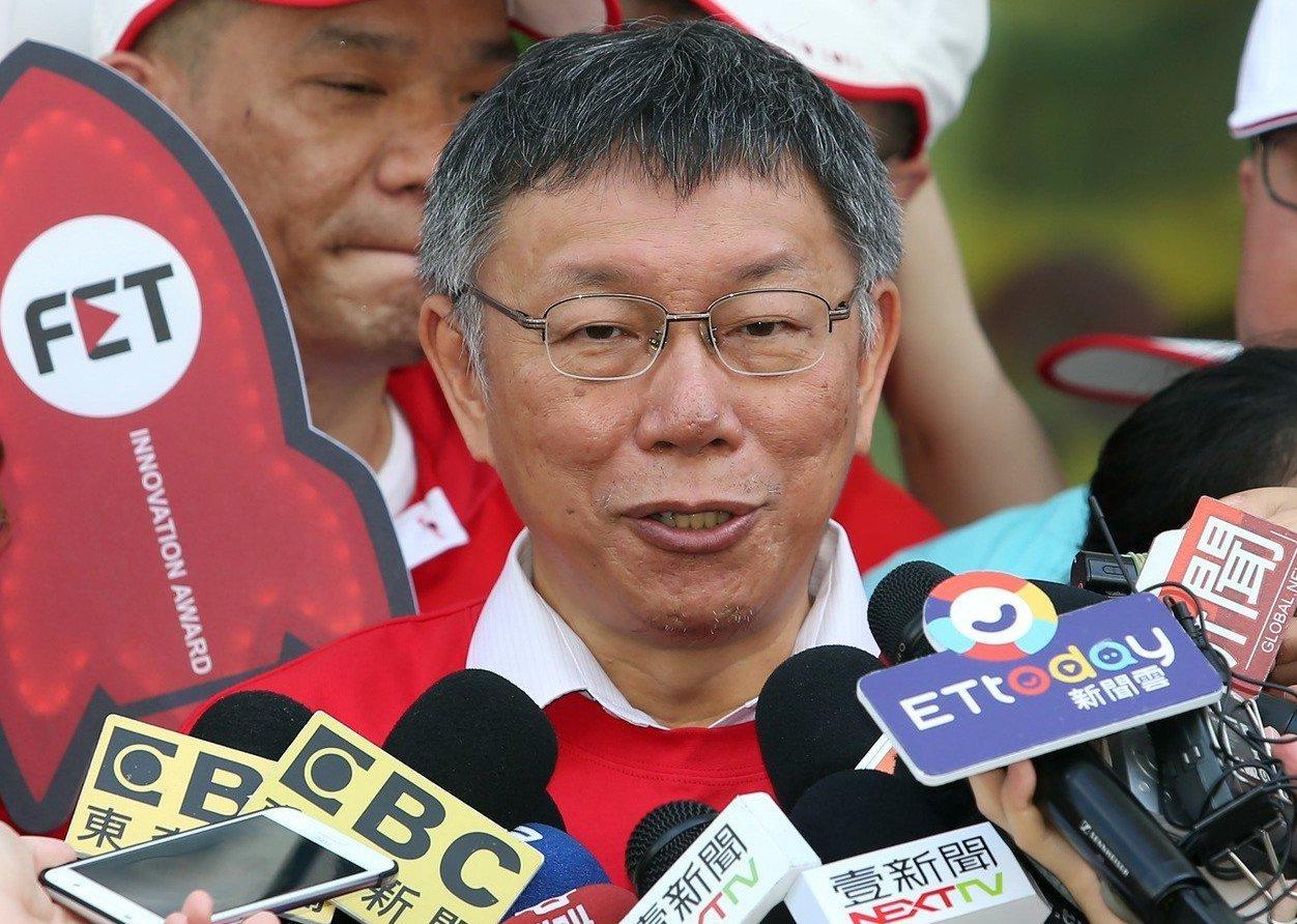 台北市長柯文哲近期民調逐漸被邊緣化,為扭轉劣勢,柯這兩天火力全開。 記者曾吉松/...