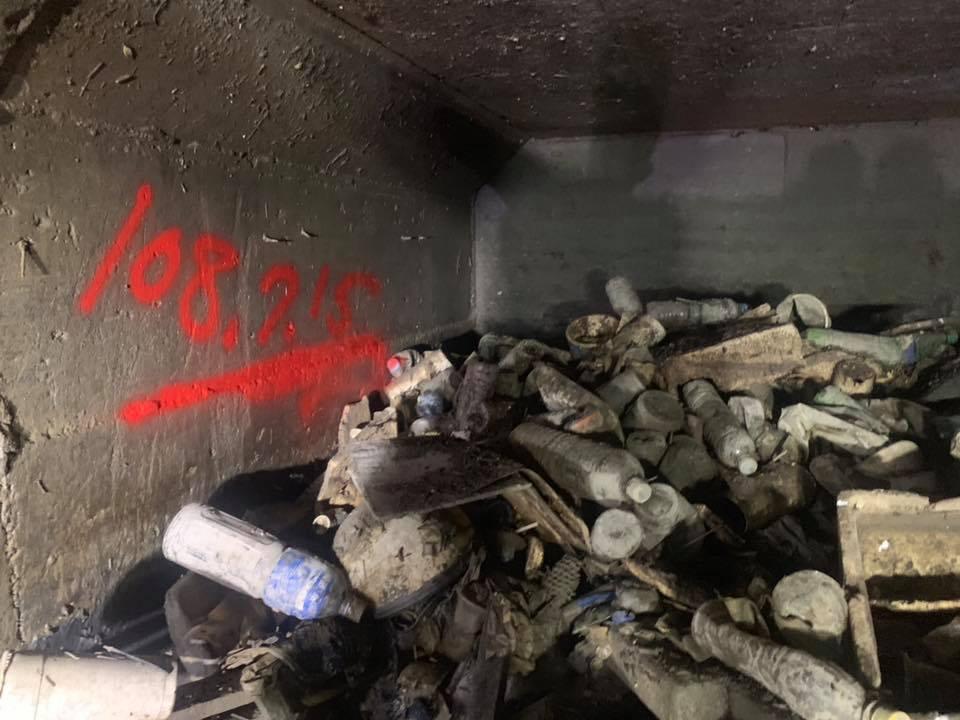 高雄市長韓國瑜在臉書貼文半年來清疏高雄市下水道淤積的成果。圖/取自韓國瑜臉書