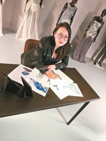 汪俐伶擅長與VIP溝通,也讓她的訂製服深受熟客喜愛。 圖/WANGLILING提...