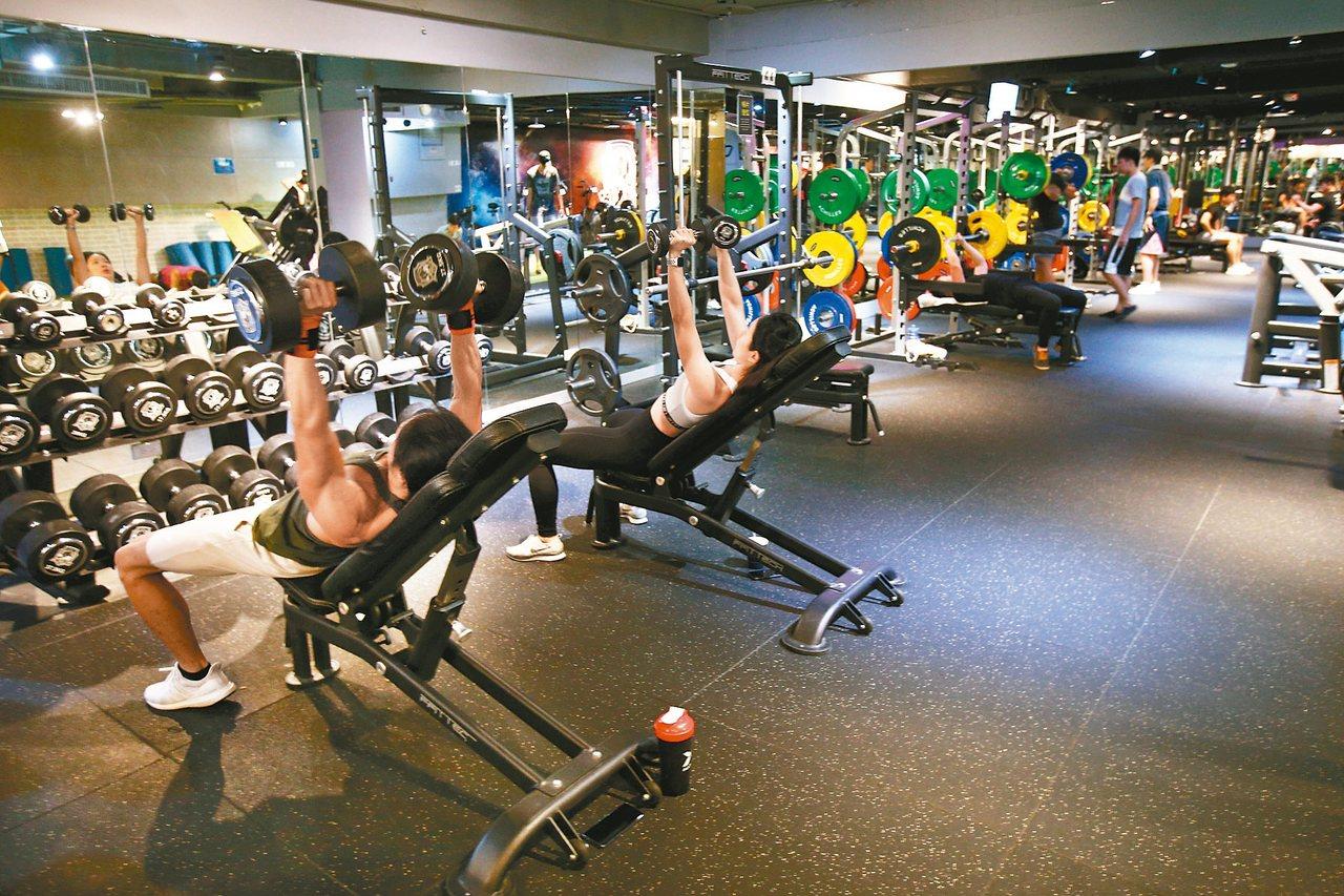 阿基里斯健身房。 攝影/蘇健忠