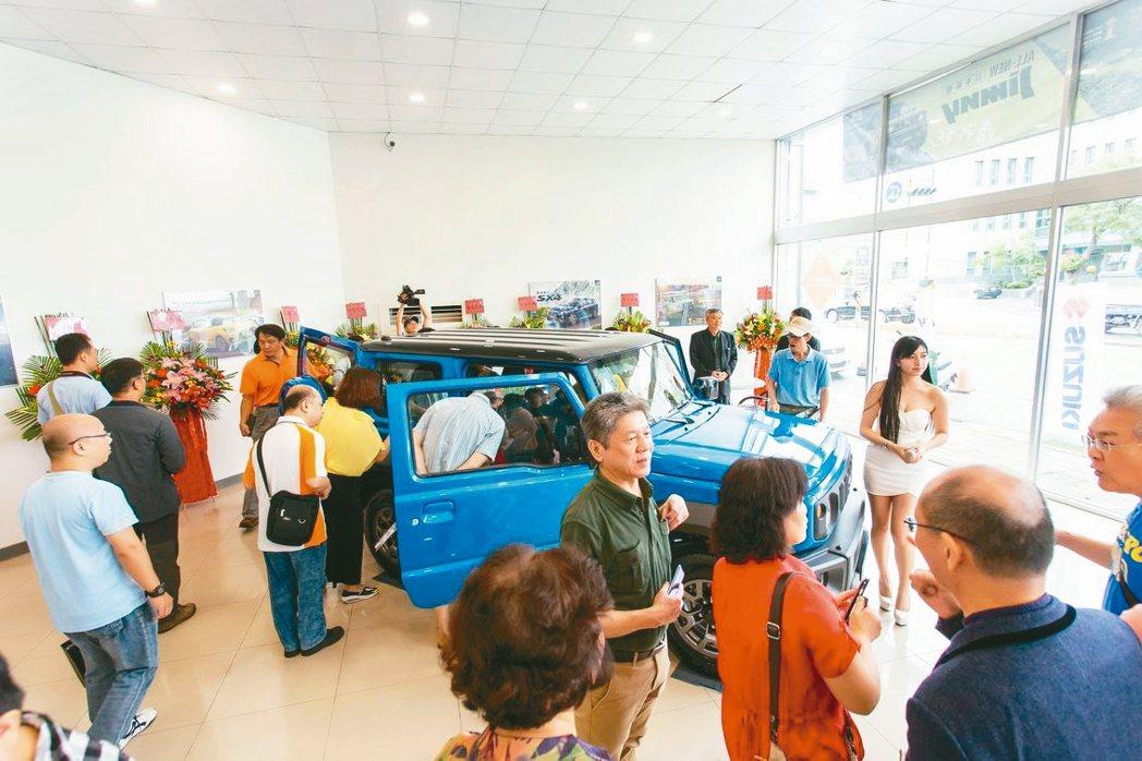 新世代ALL NEW Jimny上市,讓SUZUKI各展示據點湧入大批賞車人潮。...