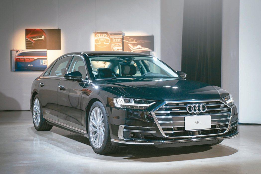 全新世代Audi A8即將在8月22日大器上市。 圖/陳志光、各車商