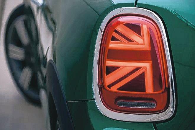 標配Union Jack英國旗式樣LED尾燈,再添英倫魅力,動靜間盡是吸睛焦點。...