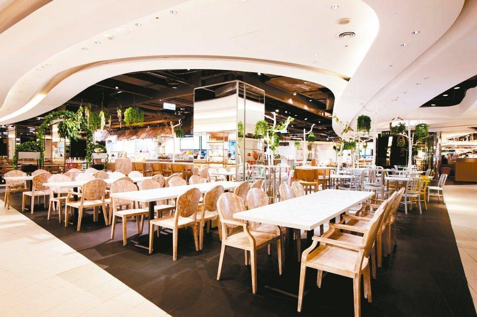 京站改裝面積超過千坪的美食街日前開幕。 京站/提供