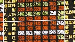 台股盤中漲逾百點,再度站回5日線之上。 本報資料照片