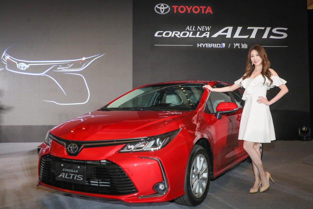 第12代Altis同時發表汽油、油電雙動力系統,全車系標配Toyota Safe...