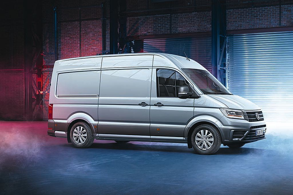 首度展出鎖定3.5噸級廂式貨車市場的全新世代福斯商旅Crafter Van,搶先...