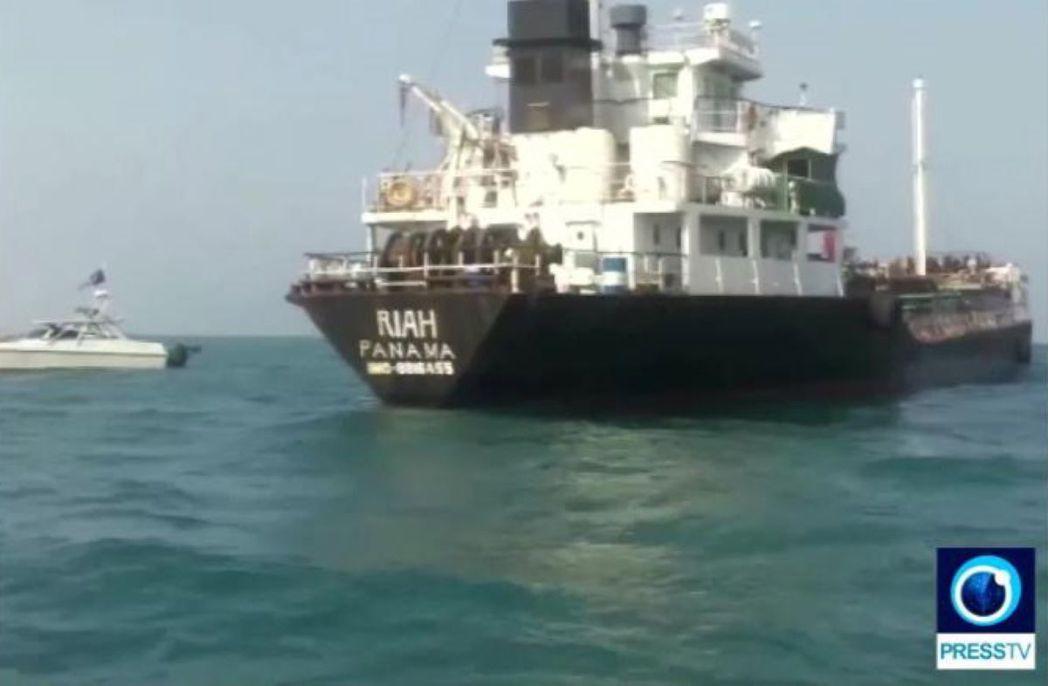 根據伊朗官媒所公布的「逮捕影片」,被扣押的油輪應是巴拿馬籍油輪「里雅號」(MT ...