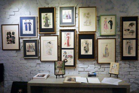 流行易逝,風格永存——版畫裡的巴黎百年服裝演化史(上)