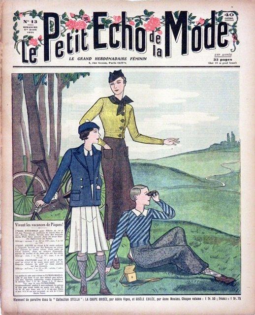 創辦於1879年的法國著名女性雜誌Le Petit Echo de la Mod...