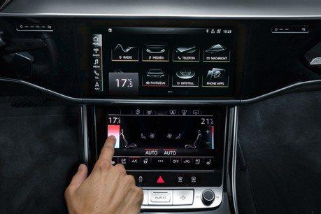 捨棄大量實體按鈕 帶你認識全新世代Audi A8同級唯一的MMI直覺式觸控系統