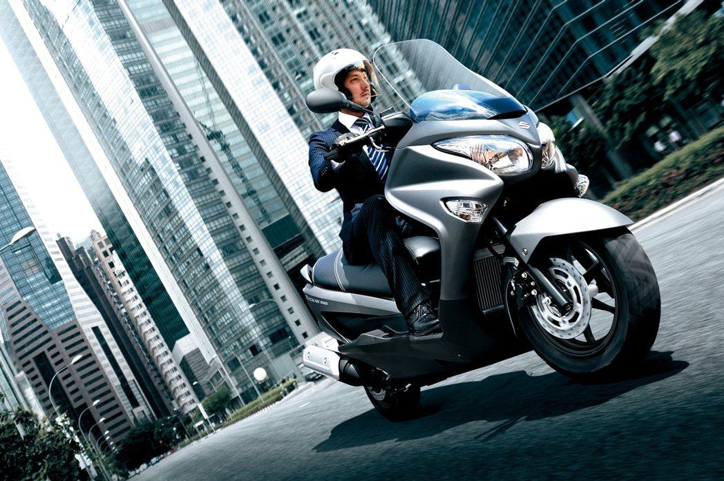 台鈴Suzuki BURGMAN200。 圖/台鈴Suzuki提供