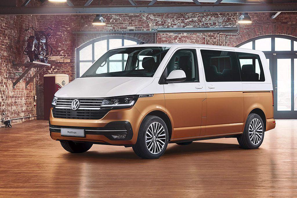 小改款福斯商旅Multivan 6.1要到今年秋季才會在歐洲開始販售,推估台灣市...
