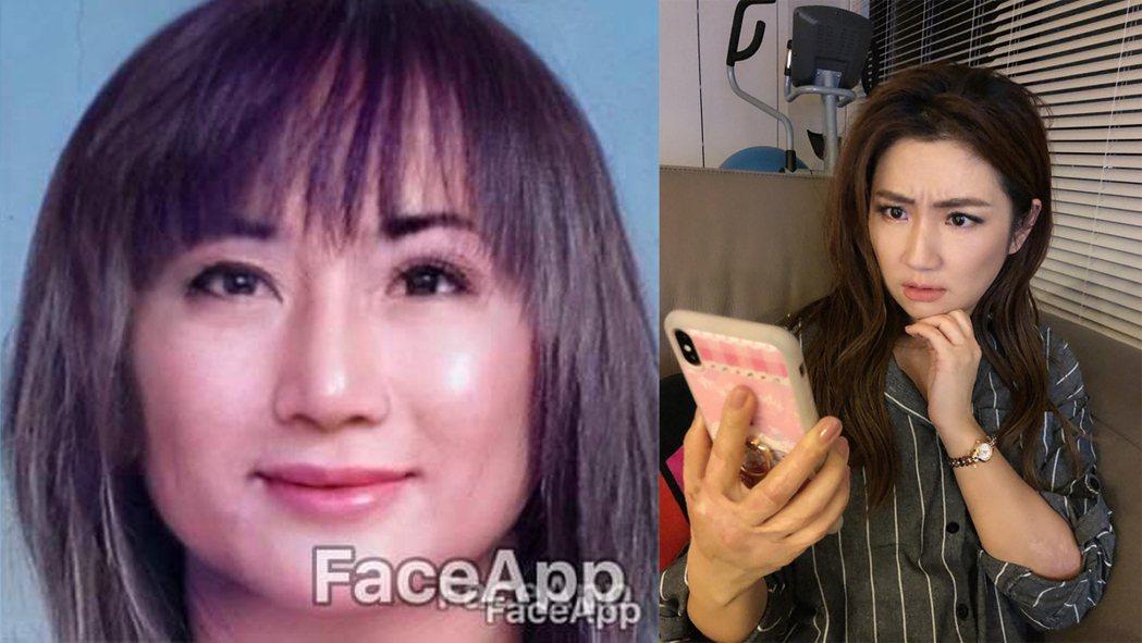 女版王金平被網友指撞臉Selina。圖/擷自王金平、Selina臉書