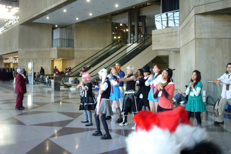 2007年12月紐約Javits世貿中心舉辦New York Anime Fes...