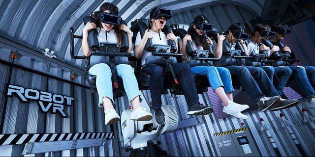 澳門百老匯Zero Latency VR 體驗館。 澳門旅遊局/提供