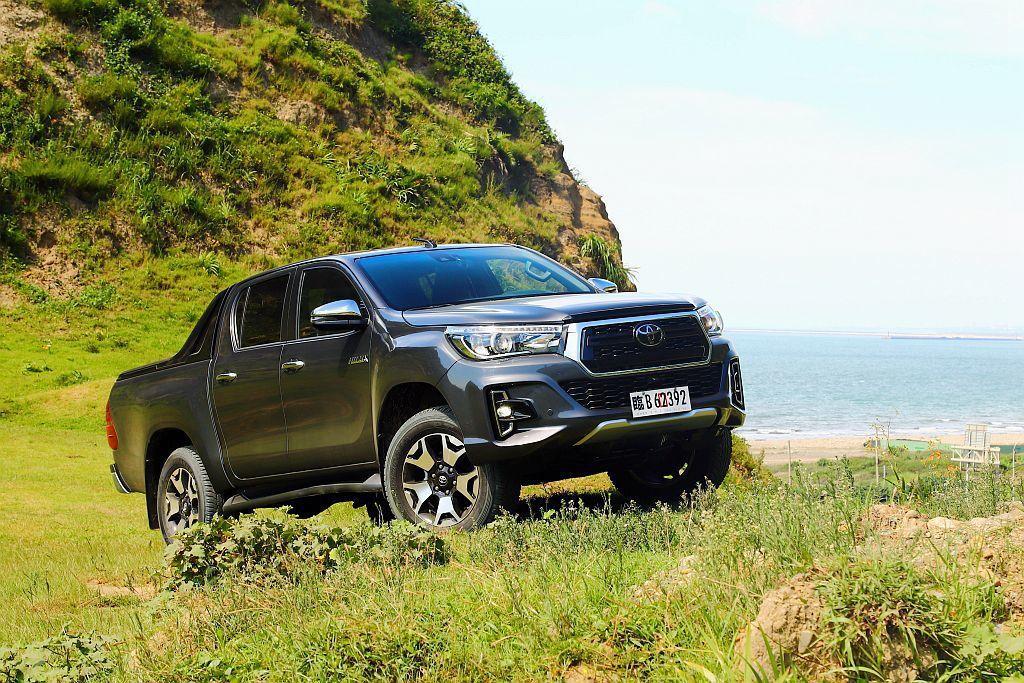 許多人期待的Toyota Hilux皮卡車終於導入台灣市場,和泰汽車將於7月31...